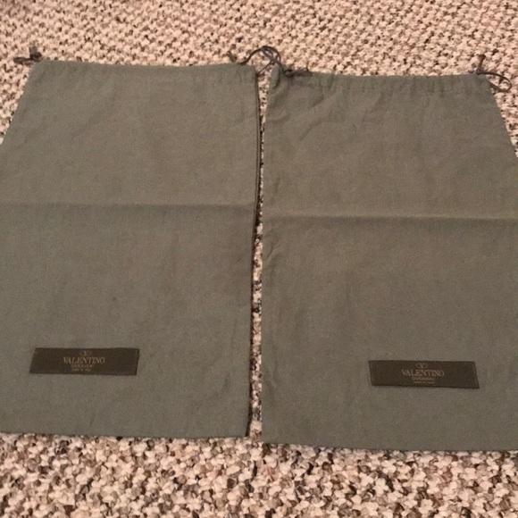 Valentino Handbags - Valentino cotton shoe dust bags